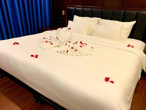 ハロン湾クルーズ ベッド1