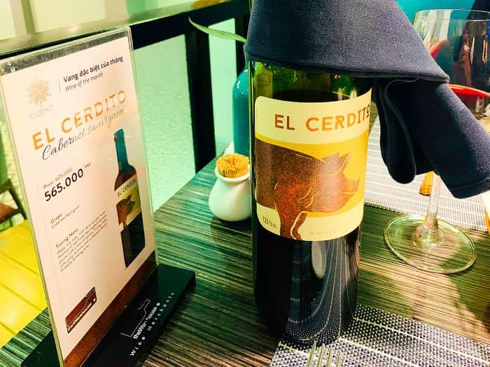 エッセンスレストラン ワイン