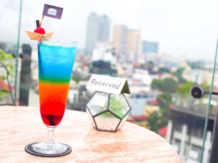 skyline bar カクテル