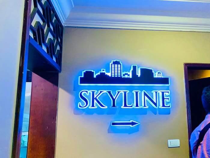 skyline bar レビュー