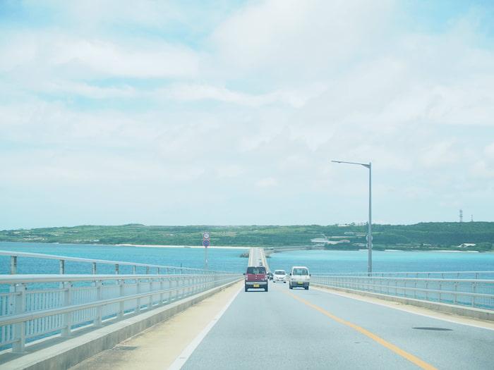 伊良部大橋からの景色