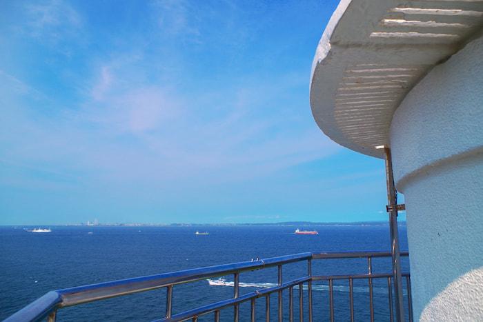 石垣島観音崎灯台からの景色