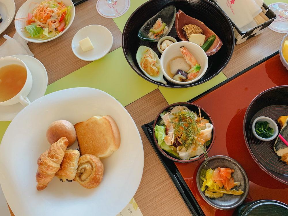 サザンビーチホテル朝食風景